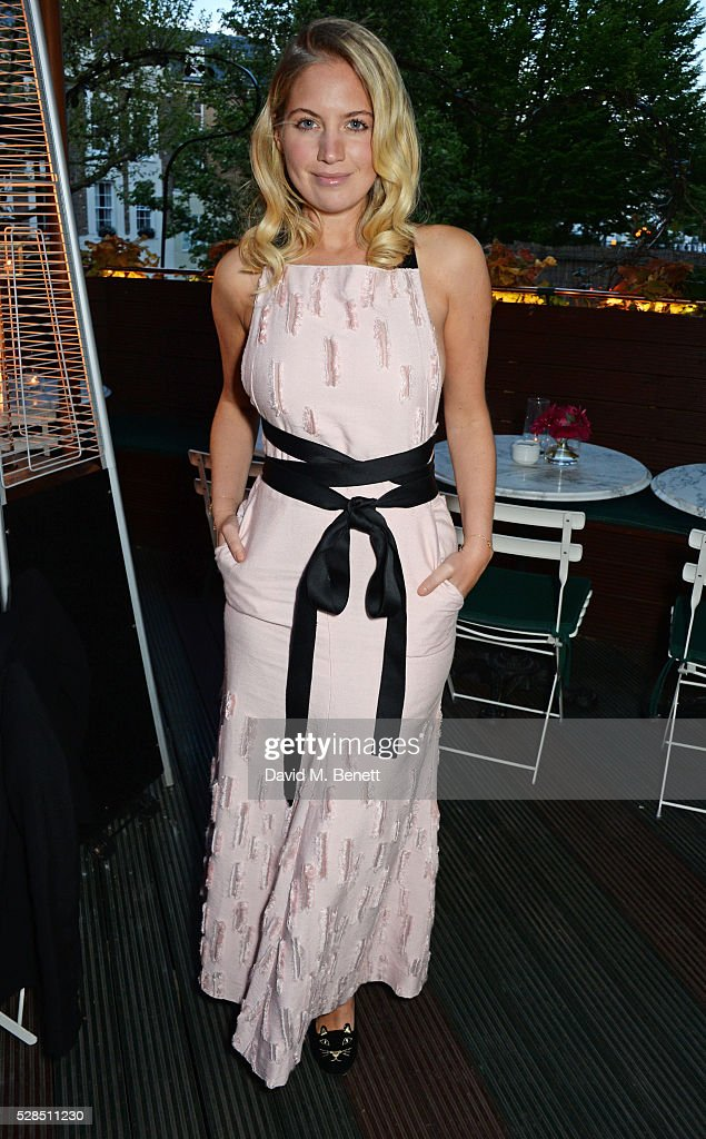 Marissa Montgomery attends a private dinner hosted by Rodial founder Maria Hatzistefanis & Bay Garnett at Casa Cruz on May 5, 2016 in London, England.