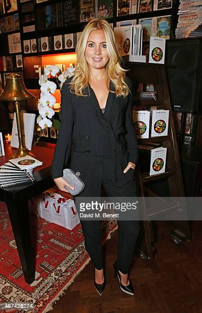 Marissa Montgomery attends as Farfetch celebrate the launch of new book 'Farfetch Curates Food' at Maison Assouline on March 24 2015 in London England
