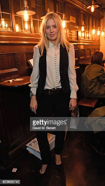 Marissa Montgomery attends Frame Pub Quiz on November 16 2016 in London England