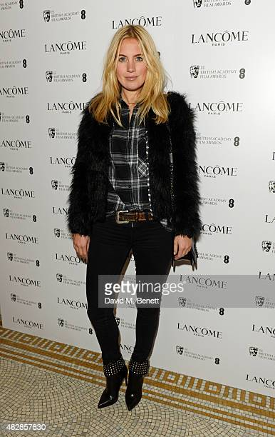 Marissa Montgomery attends the Lancome Loves Alma PreBAFTA party at Cafe Royal on February 6 2015 in London England