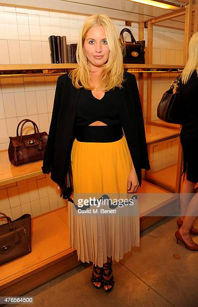 Marissa Montgomery attends the launch of 'Techbitch' with Mulberry and Penguin on June 10 2015 in London England