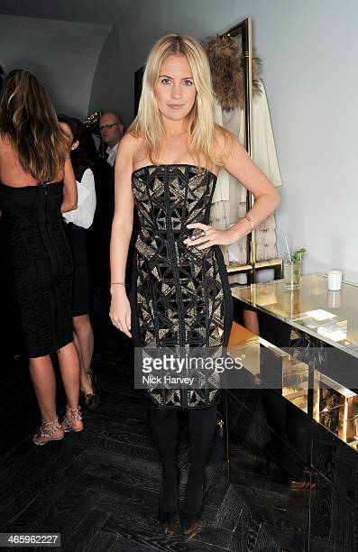 Marissa Montgomery attends the opening of the new Amanda Wakeley store on January 30 2014 in London England