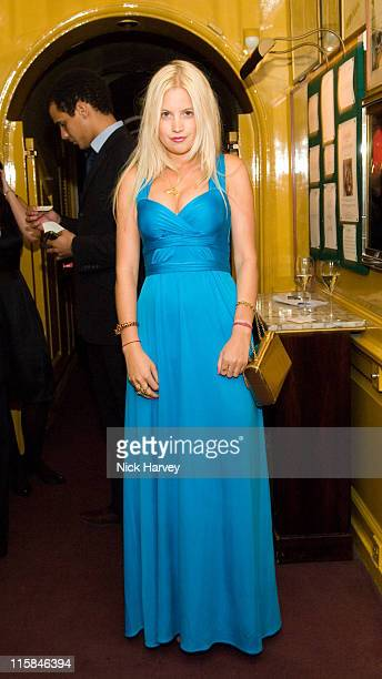 Marissa Montgomery during United Friends of Issa Party at Annabel's in London Great Britain