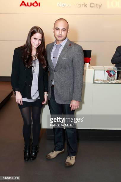 Marissa Nesta and Keith Sivera attend LODEN DAGER Fall 2010 Show at Audi Forum on February 13 2010 in New York City