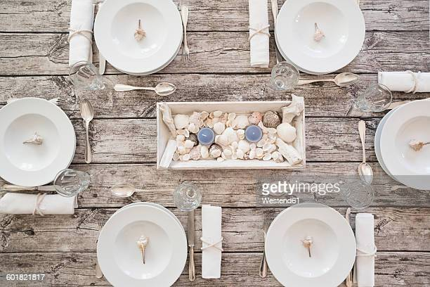 Maritime laid table