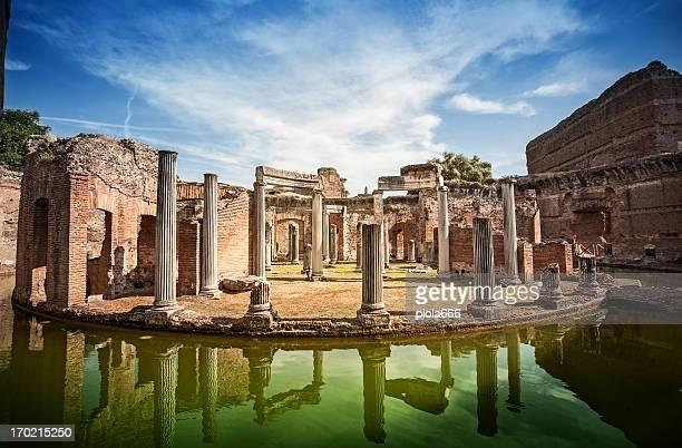 Maritime Theater des Hadrian's Villa