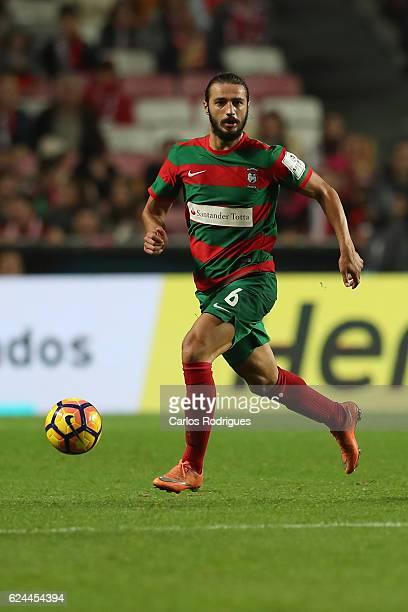 Maritimo's midfielder Erdem Sen from Torquey during the SL Benfica v CS Maritimo Portuguese Cup round 4 match at Estadio da Luz on November 19 2016...
