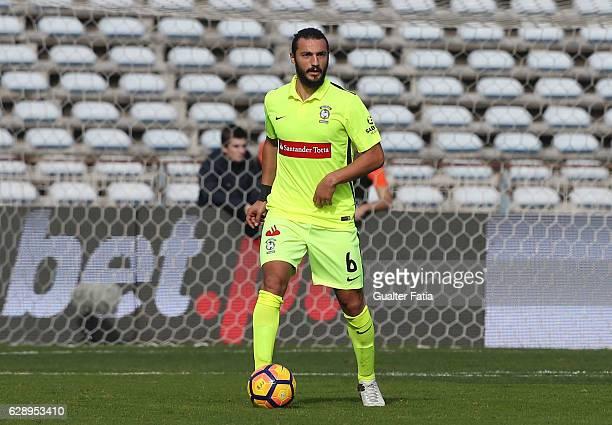 Maritimo's midfielder Erdem Sen from Turkuey in action during the Primeira Liga match between CF Os Belenenses and CS Maritimo at Estadio do Restelo...