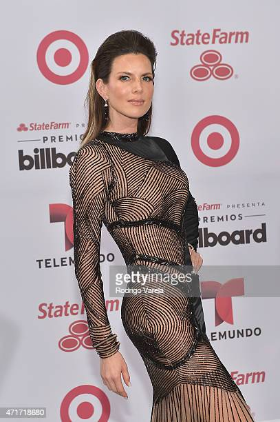 Maritza Rodríguez arrives at 2015 Billboard Latin Music Awards presented bu State Farm on Telemundo at Bank United Center on April 30 2015 in Miami...
