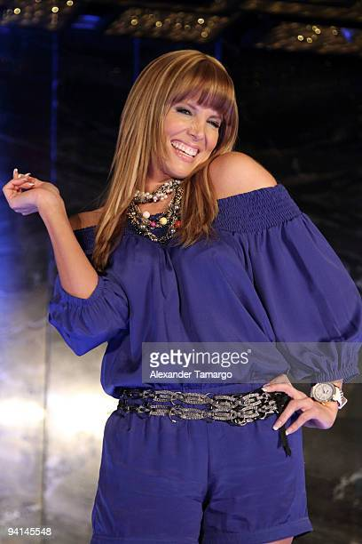 Maritza Rodriguez attends Telemundo's Perro Amor launch party at W Hotel on December 7 2009 in Miami Beach Florida