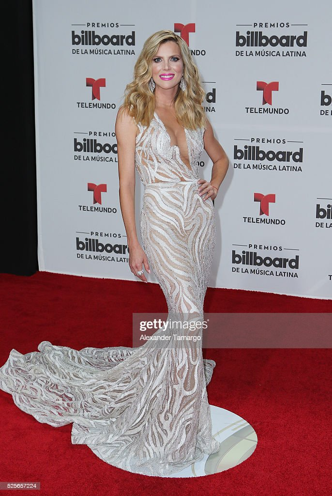 Maritza Rodriguez attends the Billboard Latin Music Awards at Bank United Center on April 28, 2016 in Miami, Florida.