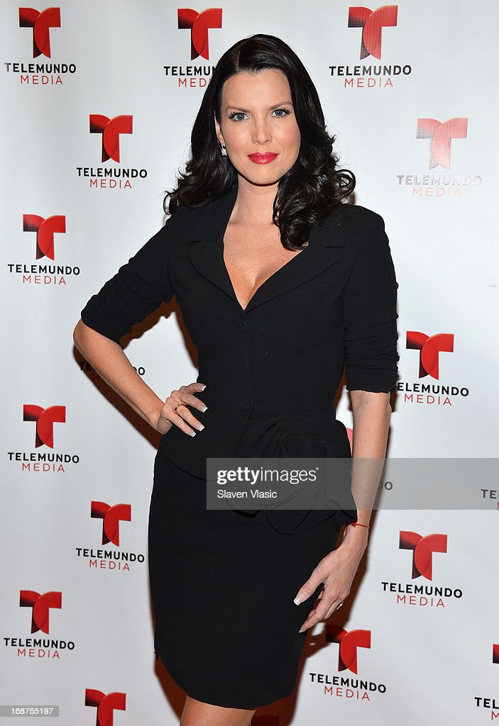 Maritza Sarcos attends the 2013 Telemundo Upfront at Frederick P. Rose Hall, Jazz at Lincoln Center on May 14, 2013 in New York City.