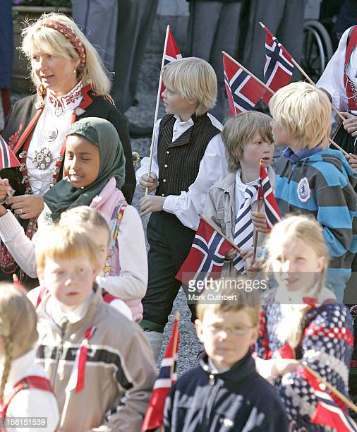 Marius Borg Hoiby Attends The Norway National Day Celebrations In Skaugum