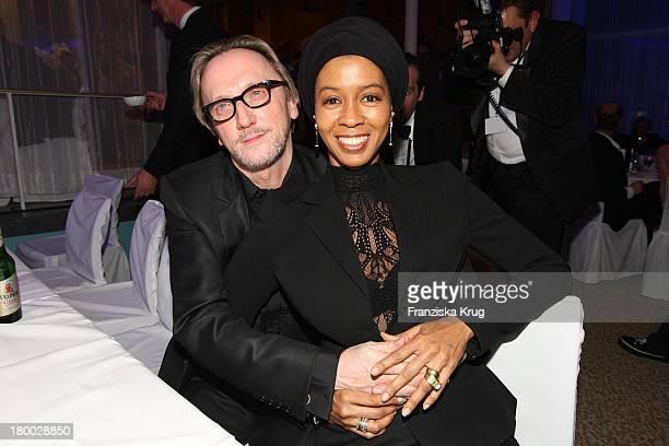 Marius Müller Westernhagen Und Ehefrau Romney Bei Der Party Nach Der Verleihung Des 'Deutschen Filmpreis 2008' Im Palais Am Funkturm In Berlin