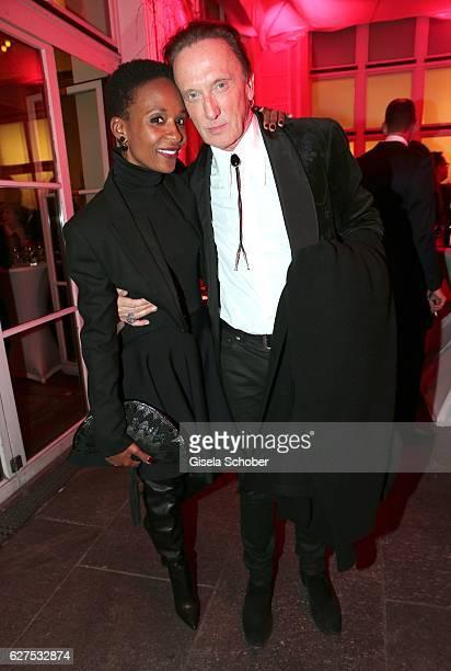 Marius MuellerWesternhagen and his girlfriend Lindiwe Suttle during the Ein Herz Fuer Kinder after show party at Borchardt Restaurant on December 3...