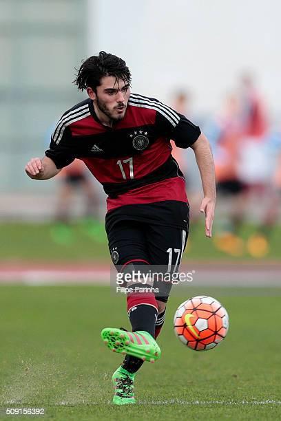 Marius Von Cysewski of Germany during the UEFA Under16 match between U16 France v U16 Germany on February 6 2016 in Vila Real de Santo Antonio...