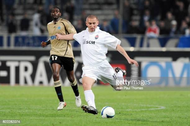 Mariusz LEWANDOWSKI Marseille / Chakhtior /Donetsk 1/4 finale de la Coupe UEFA Stade Velodrome de Marseille