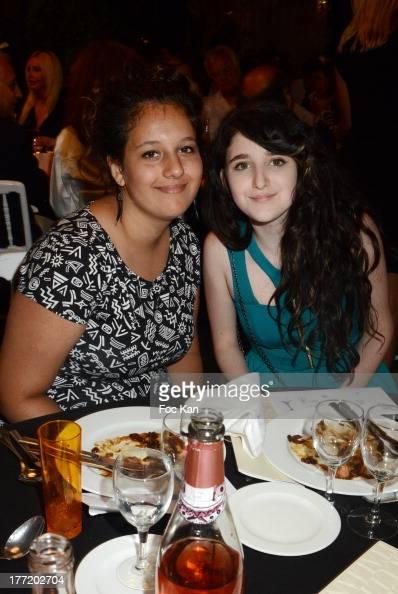 Marjian Tsatsaros and Miel Nadam attend the Massimo Gargia's Birthday Dinner at Moulins de Ramatuelle on August 21 2013 in Saint Tropez France
