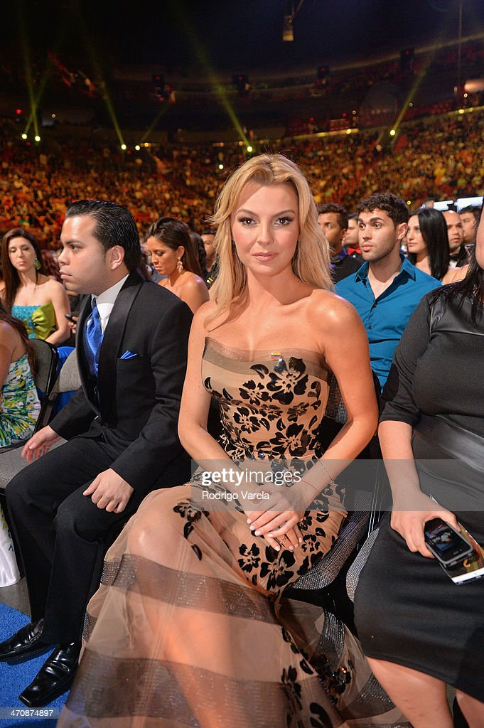 Marjorie de Sousa attends Premio Lo Nuestro a la Musica Latina 2014 at American Airlines Arena on February 20, 2014 in Miami, Florida.
