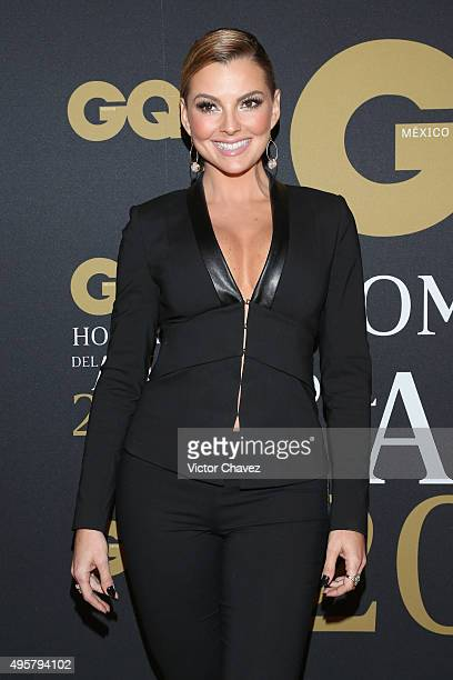 Marjorie de Sousa attends the GQ Mexico Men of The Year 2015 awards at Live Aqua Bosques hotel on November 4 2015 in Mexico City Mexico