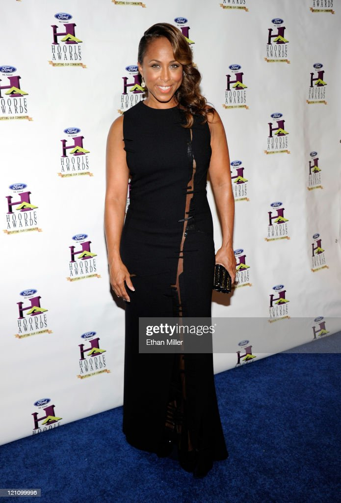 Marjorie Harvey arrives at the ninth annual Ford Hoodie Awards at the Mandalay Bay Events Center August 13, 2011 in Las Vegas, Nevada.