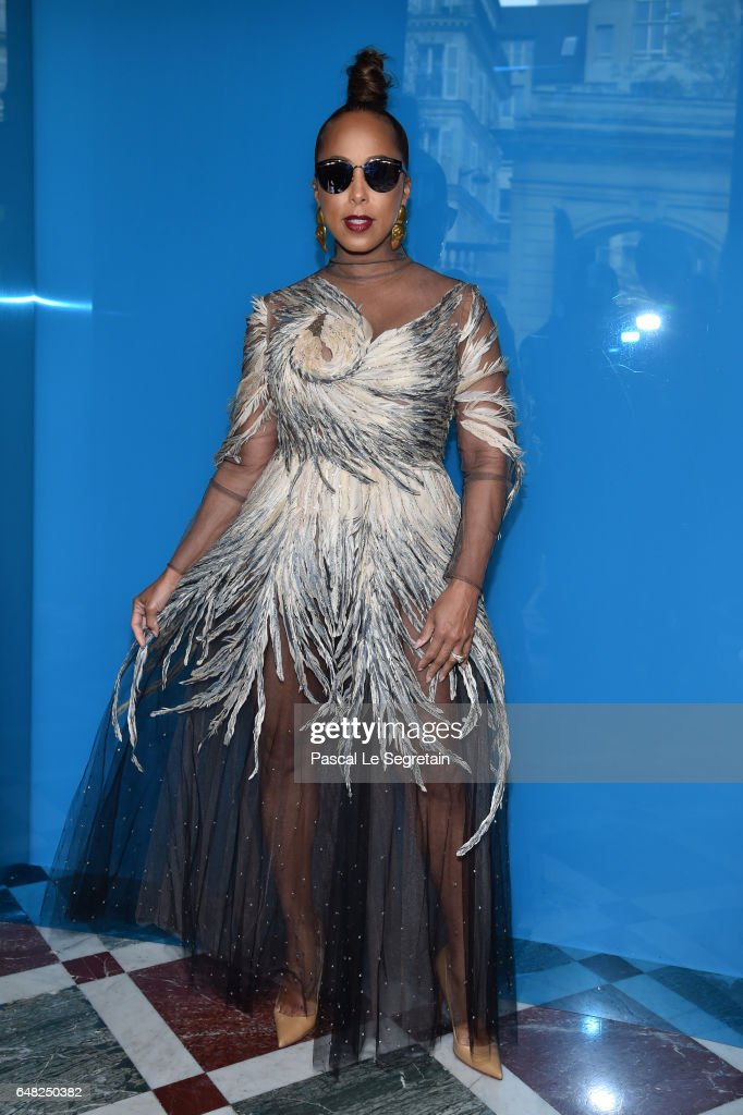 Marjorie Harvey attends the Valentino show as part of the Paris Fashion Week Womenswear Fall/Winter 2017/2018 on March 5, 2017 in Paris, France.