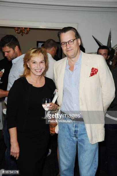 Marjorie Heidfieck and Billy Kimball attend Bret Easton Ellis to celebrate the publication of his new novel IMPERIAL BEDROOMS at Penthouse on June 10...