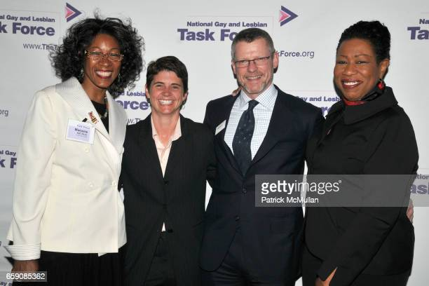Marjorie Hill Rea Carey Mark Sexton and Paula Redd Zeman attend NATIONAL GAY and LESBIAN TASK FORCE 2009 New York Leadership Awards to Honor MAYOR...