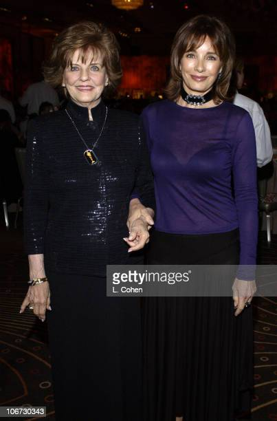 Marjorie Lord and Anne Archer during Salute to Johnny Grant Happy 80th Birthday Staged by the Hollywood Entertainment Museum Inside at Kodak Theatre...