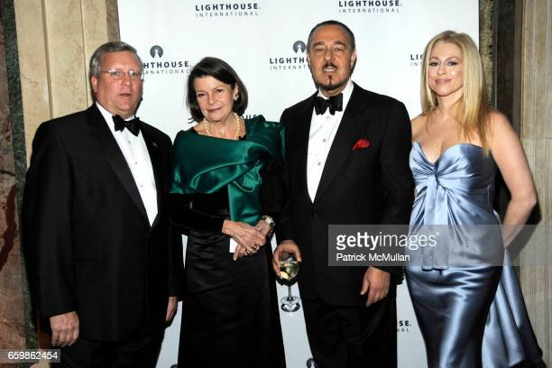 Mark Ackerman Princess Marina Sturdza of Romania Marc Rosen and Stephanie Patel attend 'LIGHTYEARS' Lighthouse International Salutes the Arts at The...