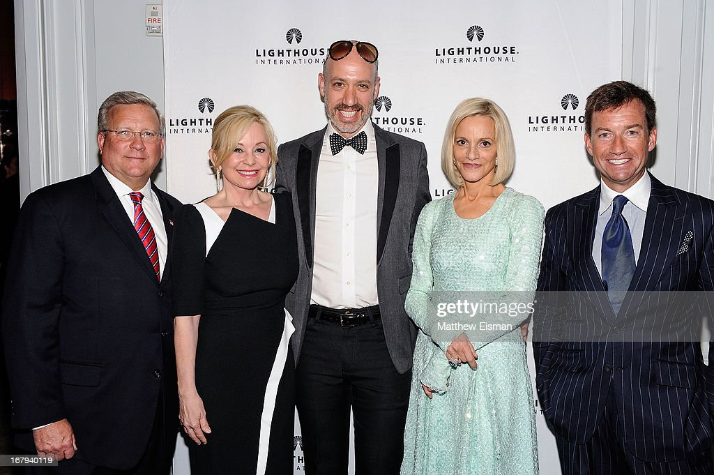 Mark Ackermann, Julie Wainwright, Robert Verdi, Lorry Newhouse and Alex Hitz attend the 5th Annual 'A Posh Affair' Gala at 583 Park Avenue on May 2, 2013 in New York City.