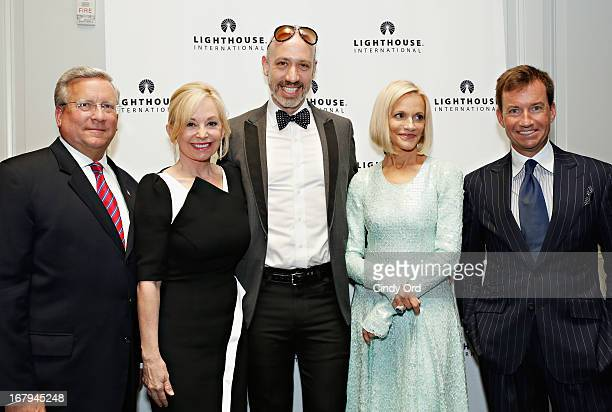 Mark AckermannJulie Wainwright Robert Verdi Lorry Newhouse and Alex Hitz attend the 40th Annual 'A Posh Affair' Gala at 583 Park Avenue on May 2 2013...
