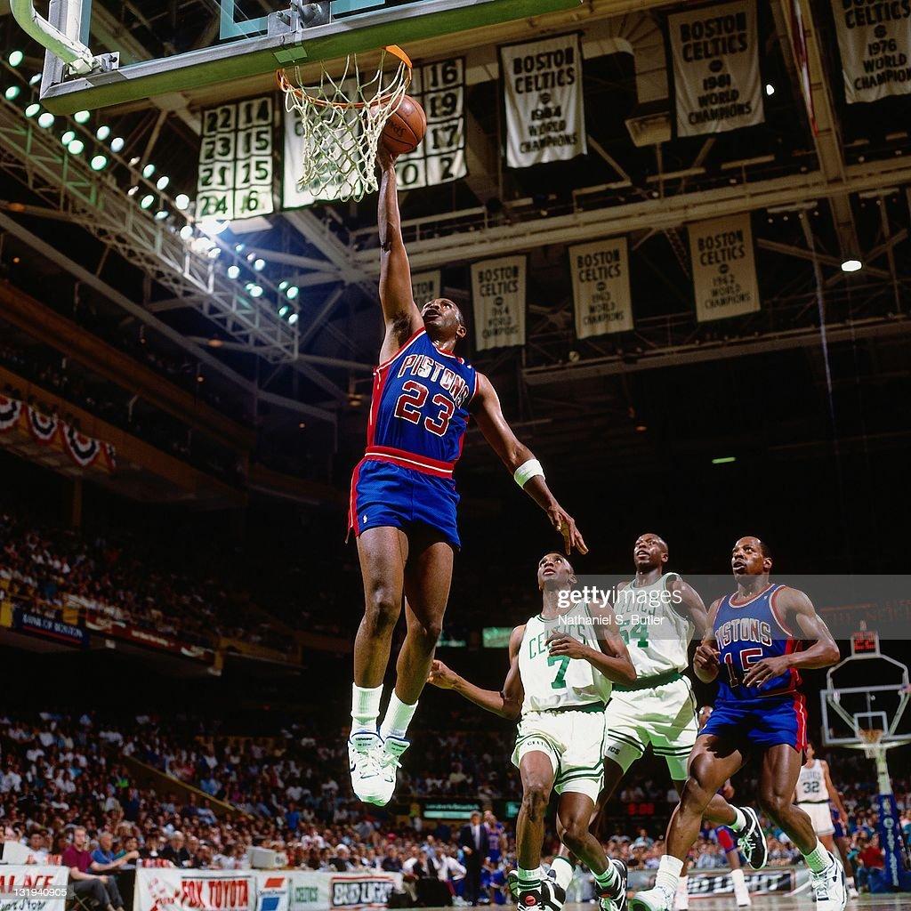 Detroit Pistons v Boston Celtics