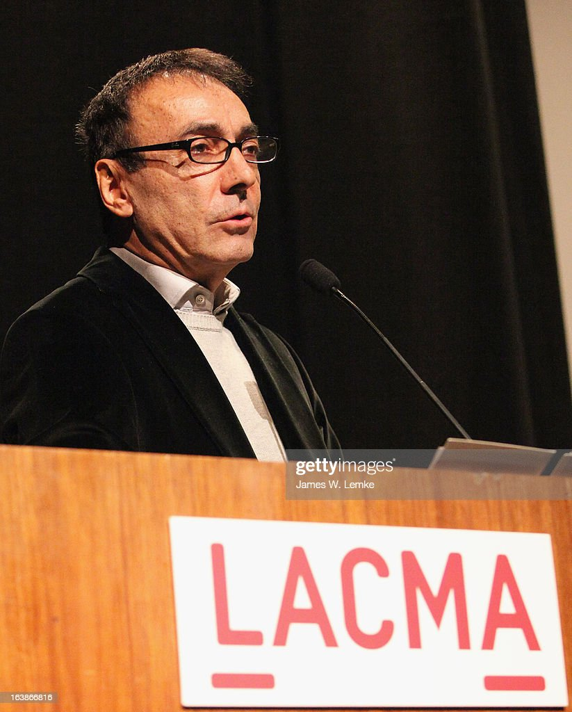 Mark Amin attends the 2013 Farhang Foundation Short Film Festival held at the Bing Theatre at LACMA on March 16, 2013 in Los Angeles, California.