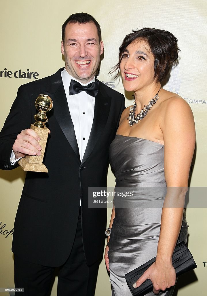 Mark Andrews and Katherine Sarafian attend The Weinstein Company's 2013 Golden Globes After Party at The Beverly Hilton Hotel on January 13, 2013 in Beverly Hills, California.