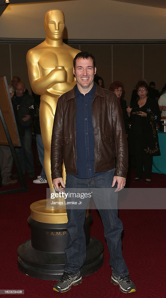 Mark Andrews attends the Oscar Celebrates: Animated Features Reception held at the AMPAS Samuel Goldwyn Theater on February 21, 2013 in Beverly Hills, California.