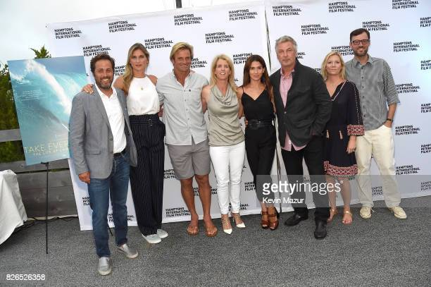 Mark Bailey Gabby Reece Laird Hamilton Rory Kennedy Hilaria Baldwin Alec Baldwin HIFF Executive Director Anne Chaisson and David Nugent attend The...