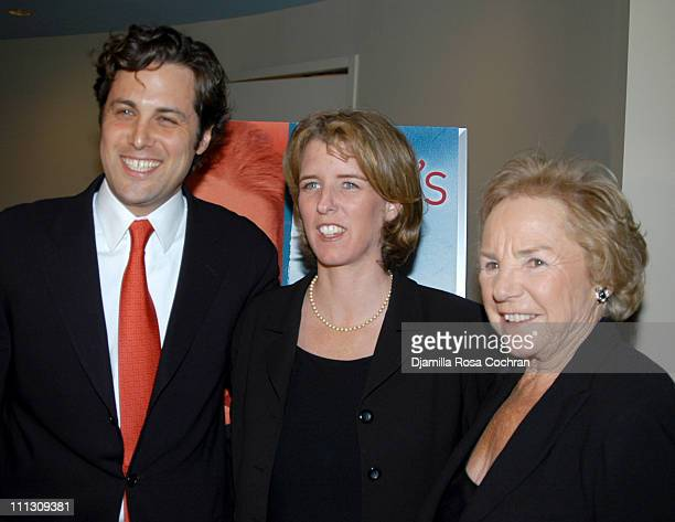 Mark Bailey Rory Kennedy and Ethel Kennedy during HBO's Special Screening of Rory Kennedy's Documentary 'A Boy's Life' at HBO Avenue of the Americas...