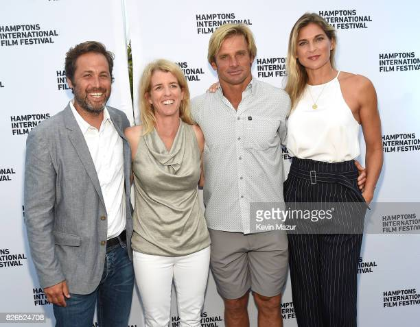 Mark Bailey Rory Kennedy Laird Hamilton and Gabby Reece attend The Hamptons International Film Festival SummerDocs Series Screening of TAKE EVERY...