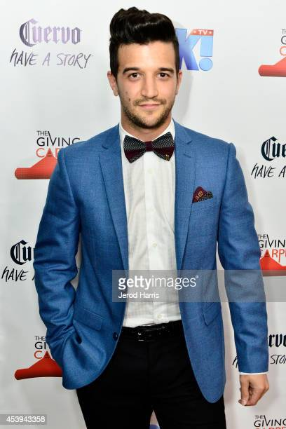 Mark Ballas attends OK TV Awards Party at Sofitel Hotel on August 21 2014 in Los Angeles California