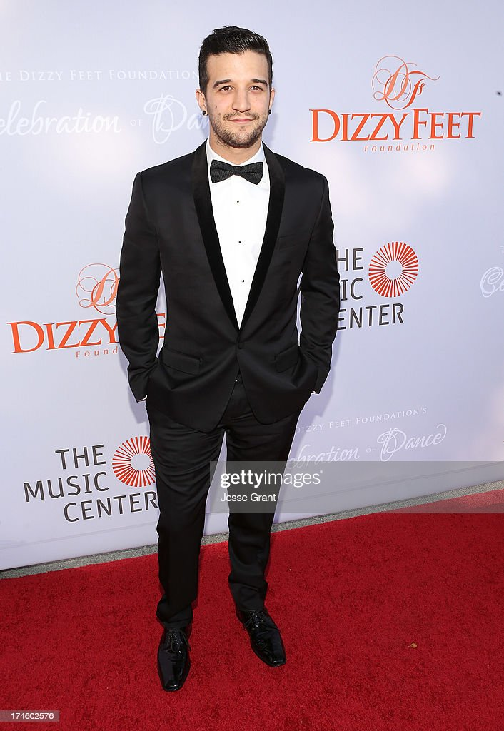 Mark Ballas attends the Dizzy Feet Foundation Third 'Celebration of Dance' Gala at The Music Center on July 27, 2013 in Los Angeles, California.
