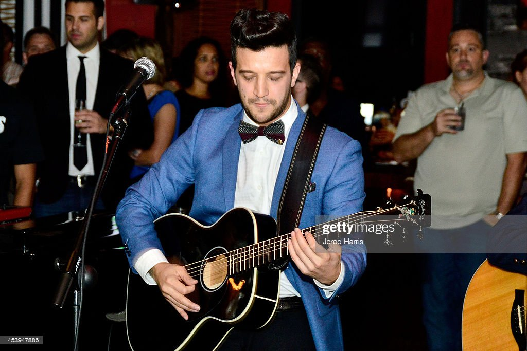 <a gi-track='captionPersonalityLinkClicked' href=/galleries/search?phrase=Mark+Ballas&family=editorial&specificpeople=4531129 ng-click='$event.stopPropagation()'>Mark Ballas</a> performs at OK! TV Awards Party at Sofitel Hotel on August 21, 2014 in Los Angeles, California.