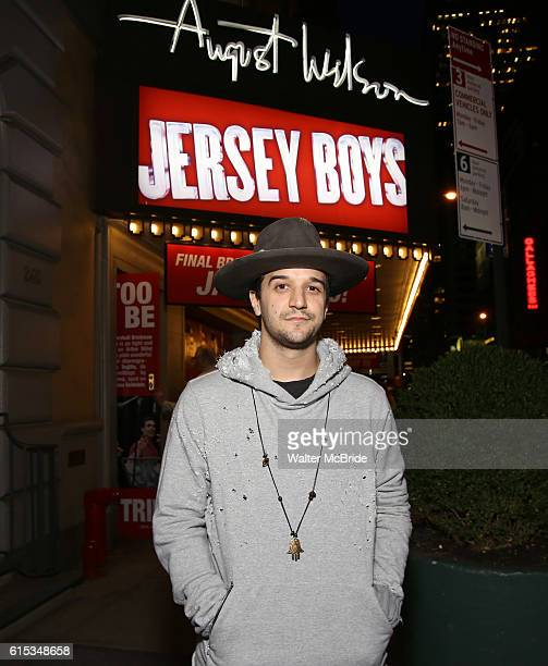 Mark Ballas poses for a photo shoot for his Broadway debut in 'Jersey Boys' at the August Wilson Theatre on October 18 2016 in New York City