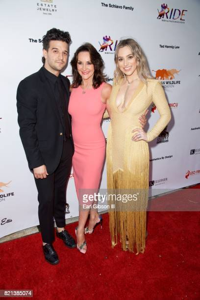Mark Ballas Shirley Ballas and BC Jean attend the Ride Foundation Inaugural GalaDance For Africa at Boulevard3 on July 23 2017 in Hollywood California