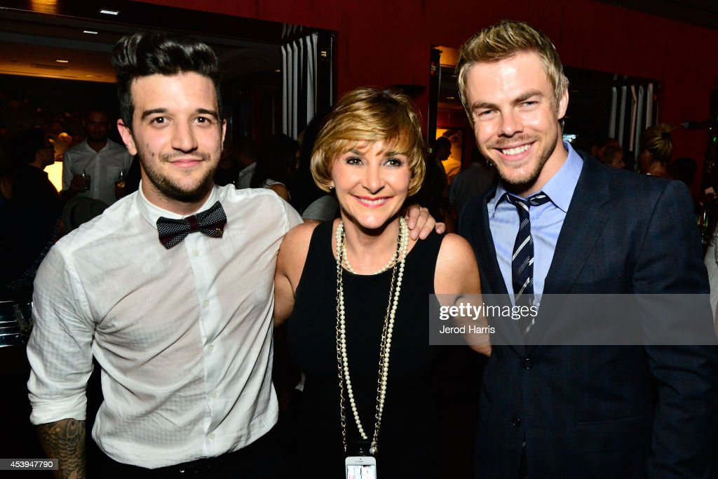 <a gi-track='captionPersonalityLinkClicked' href=/galleries/search?phrase=Mark+Ballas&family=editorial&specificpeople=4531129 ng-click='$event.stopPropagation()'>Mark Ballas</a>, Shirley Ballas and <a gi-track='captionPersonalityLinkClicked' href=/galleries/search?phrase=Derek+Hough&family=editorial&specificpeople=4532214 ng-click='$event.stopPropagation()'>Derek Hough</a> attend OK! TV Awards Party at Sofitel Hotel on August 21, 2014 in Los Angeles, California.