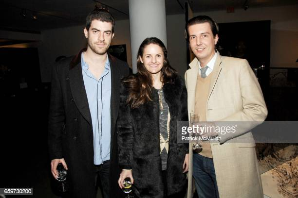 Mark Barak Fiona Thomas and Carlos Suarez attend ANDREW CRAMER HAPPINESS / BrainWar hosted by MILK GALLERY and the ACCOMPANIED LITERARY SOCIETY at...