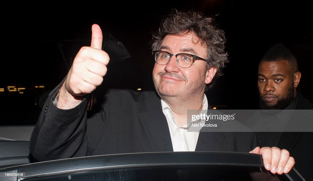 Mark Benton is sighted leaving the Minestry of Sound, Elephant and Castle on October 21, 2013 in London, England.