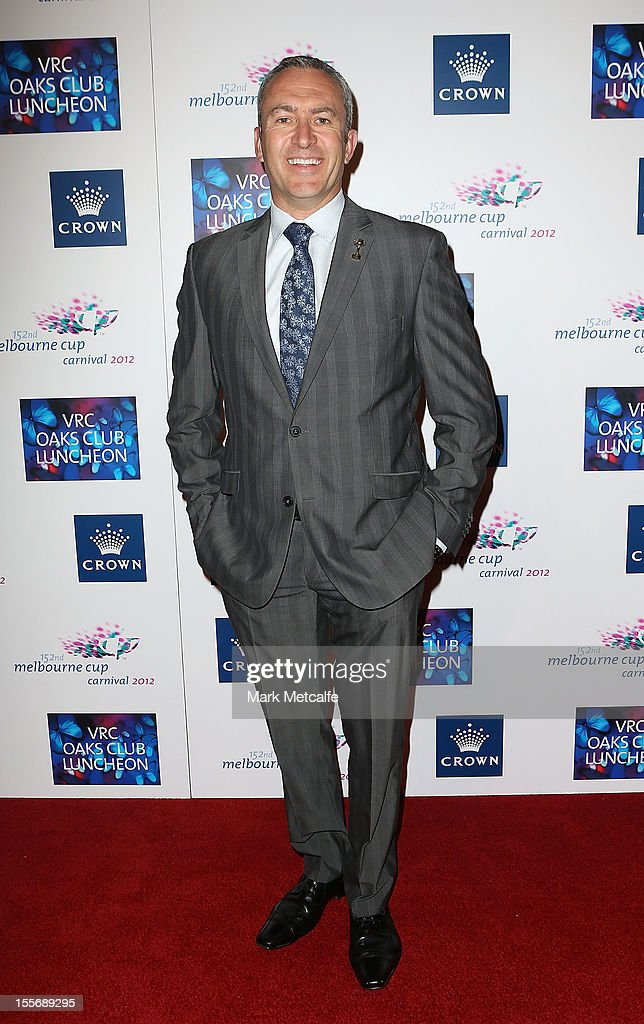 Mark Beretta attends the VRC Oaks Club Luncheon at Crown Palladium on November 7, 2012 in Melbourne, Australia.