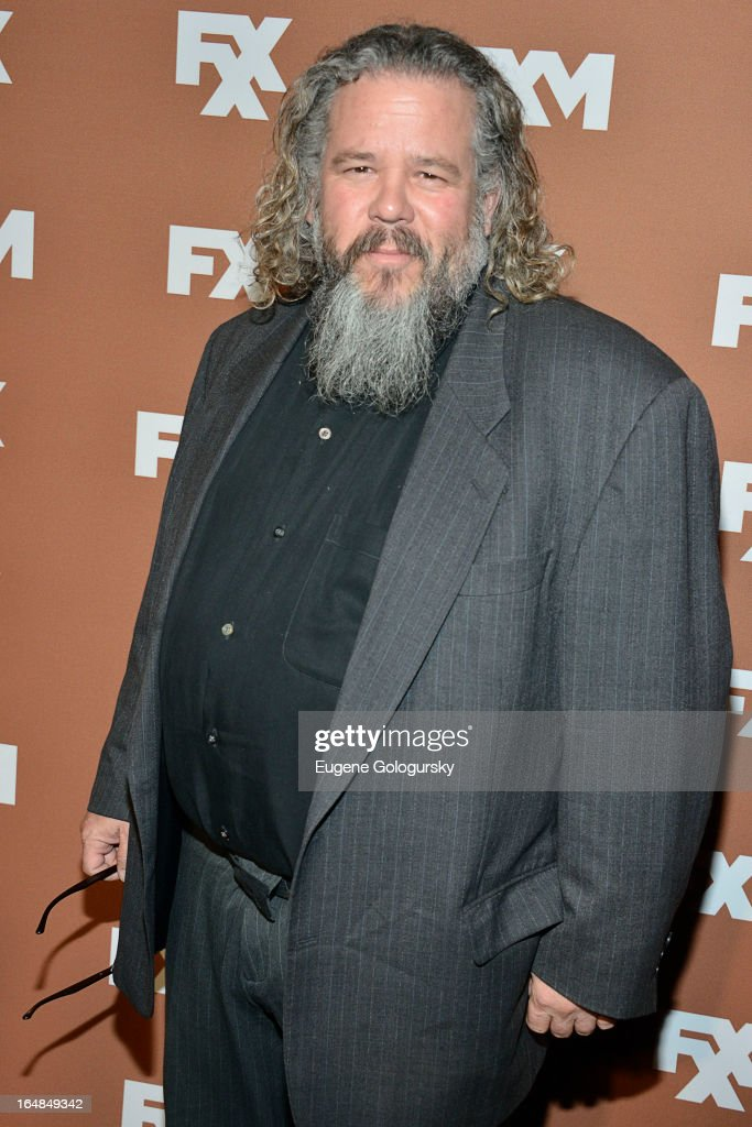 Mark Boone Junior attends the 2013 FX Upfront Bowling Event at Luxe at Lucky Strike Lanes on March 28, 2013 in New York City.