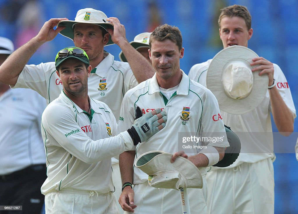 India v South Africa First Test - Day Four